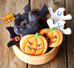 Halloween Biscuits