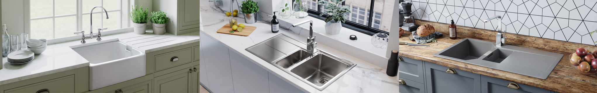 Rangemaster Sinks and Taps