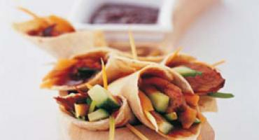 Peking Duck Wraps