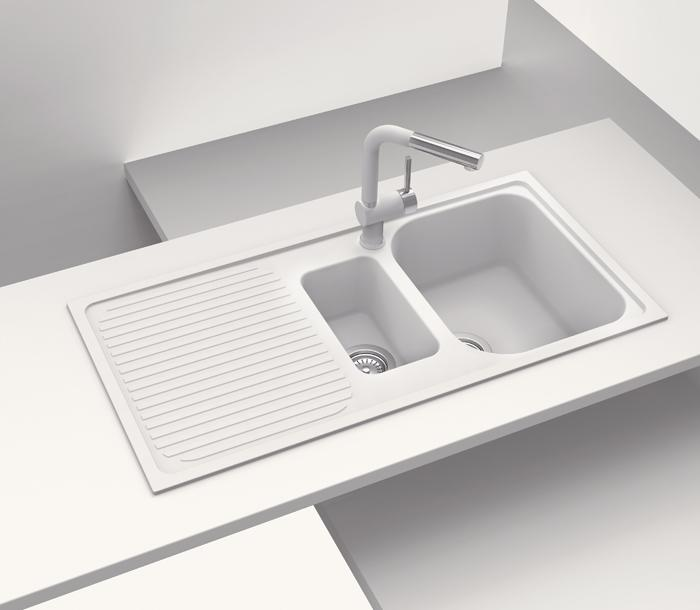 Lithos kitchen sink